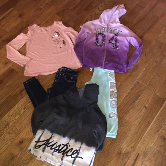 Lot of Justice size 10 clothing